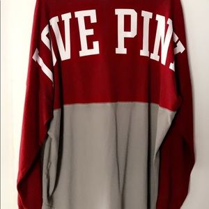 PINK Victoria's Secret Tops - Indiana state vs Pink